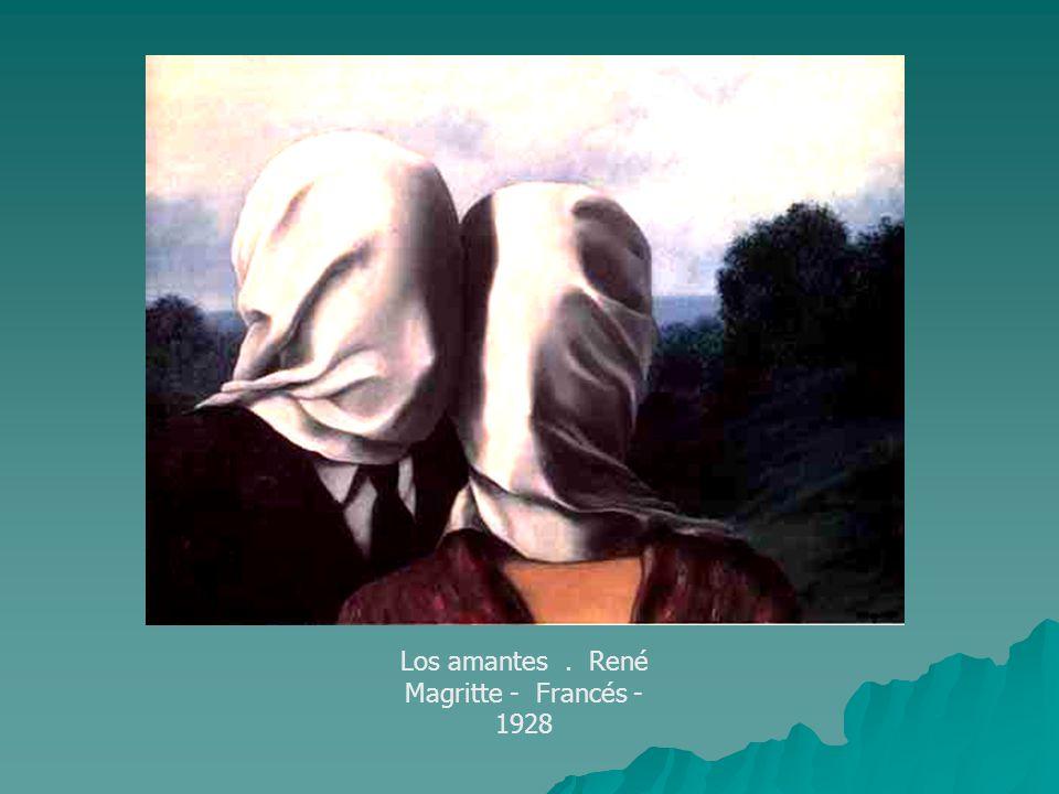 Los amantes . René Magritte - Francés - 1928
