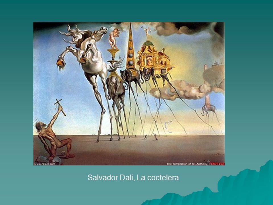 Salvador Dali, La coctelera
