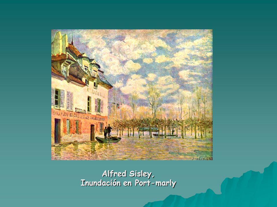 Alfred Sisley, Inundación en Port-marly