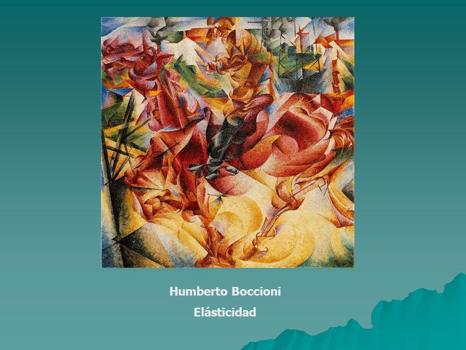 Humberto Boccioni Elásticidad