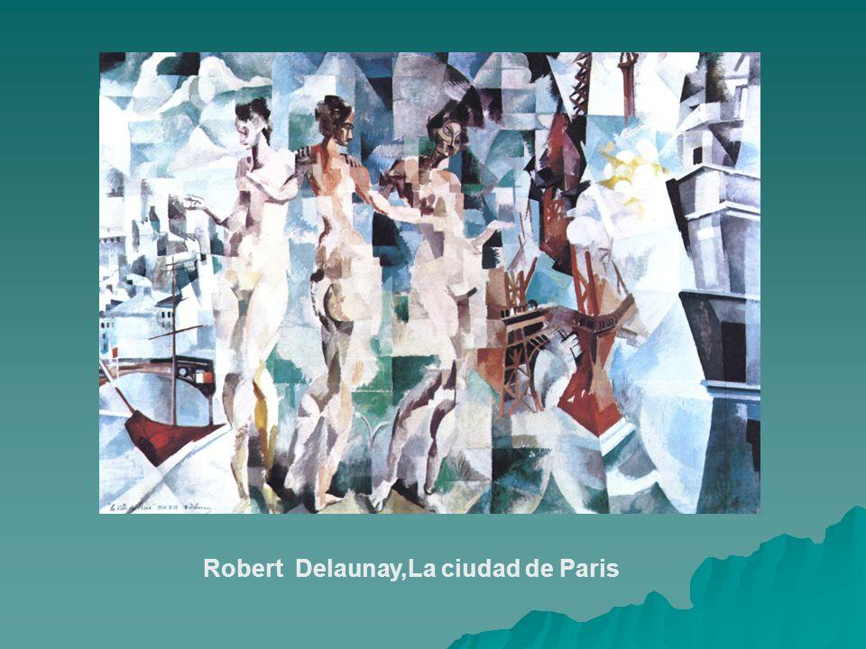 Robert Delaunay,La ciudad de Paris