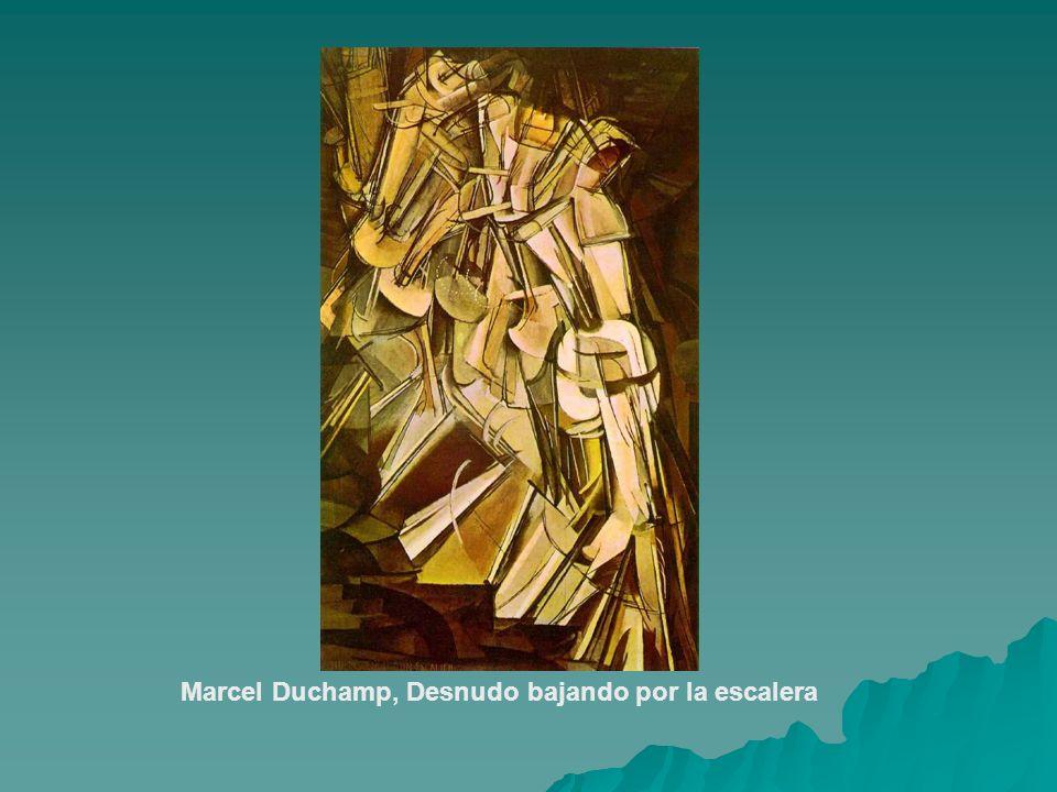 Marcel Duchamp, Desnudo bajando por la escalera