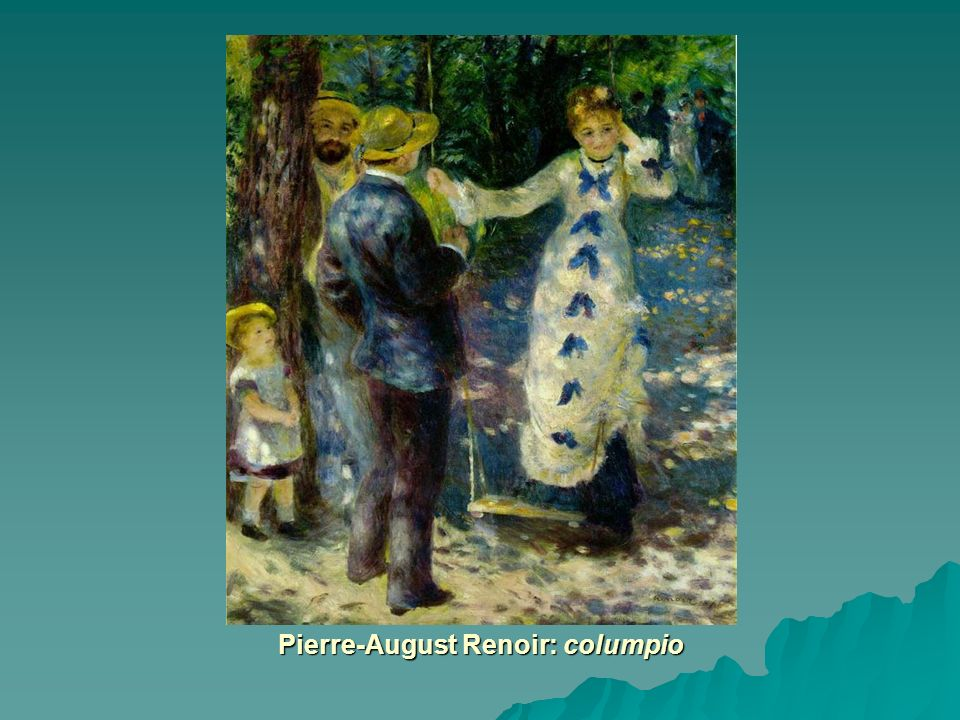 Pierre-August Renoir: columpio