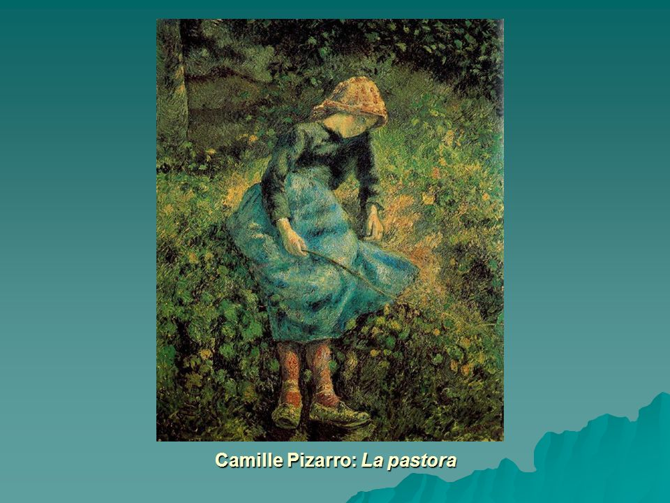 Camille Pizarro: La pastora