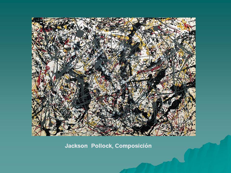 Jackson Pollock, Composición