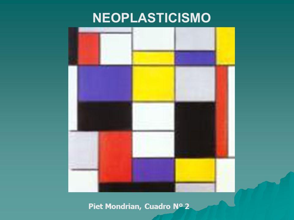 Piet Mondrian, Cuadro Nº 2