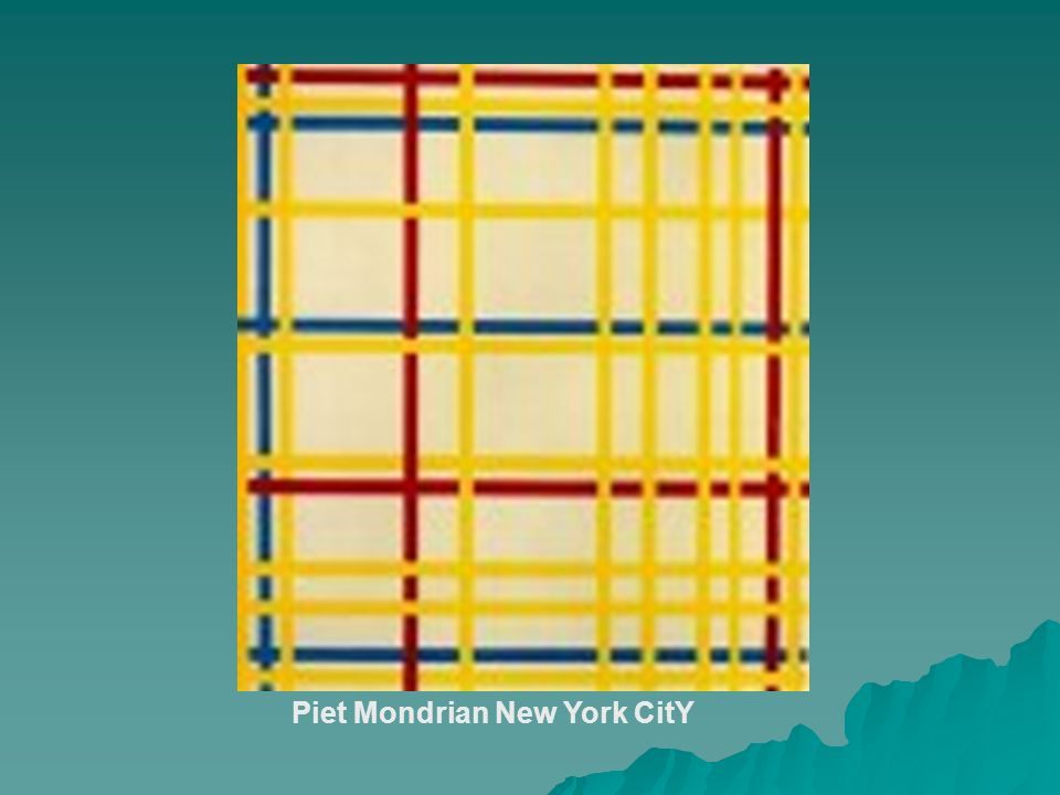 Piet Mondrian New York CitY