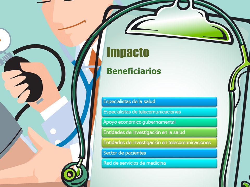 Impacto Beneficiarios Especialistas de la salud