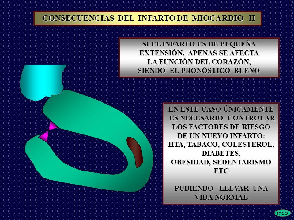 CONSECUENCIAS DEL INFARTO DE MIOCARDIO II