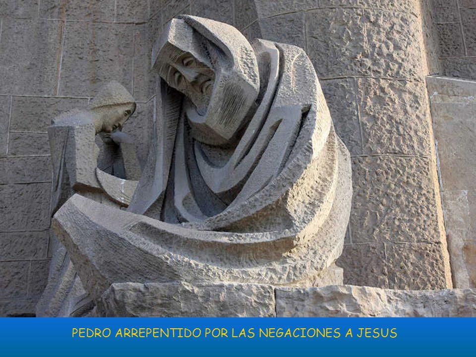 PEDRO ARREPENTIDO POR LAS NEGACIONES A JESUS