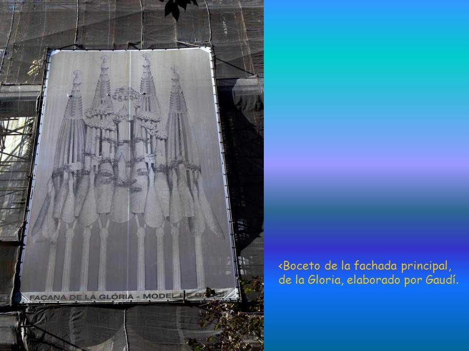 <Boceto de la fachada principal,