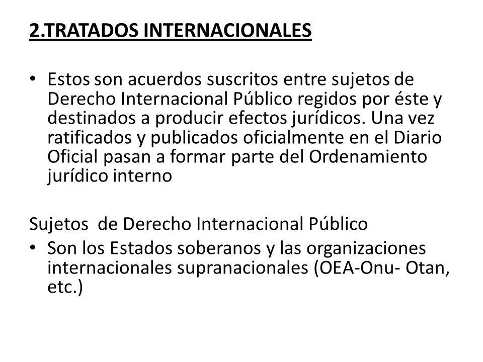2.TRATADOS INTERNACIONALES