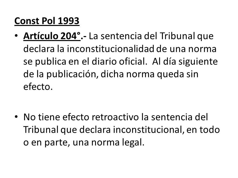 Const Pol 1993