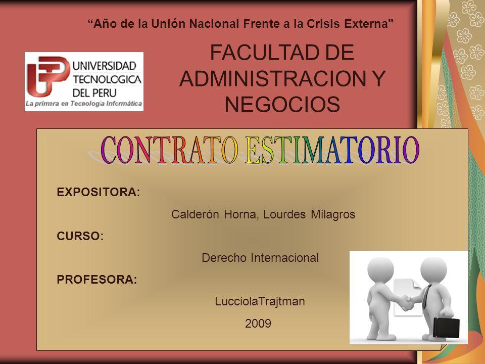 FACULTAD DE ADMINISTRACION Y NEGOCIOS