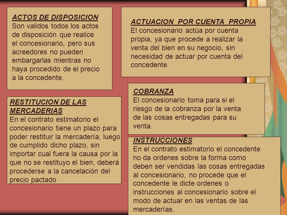 ACTOS DE DISPOSICION