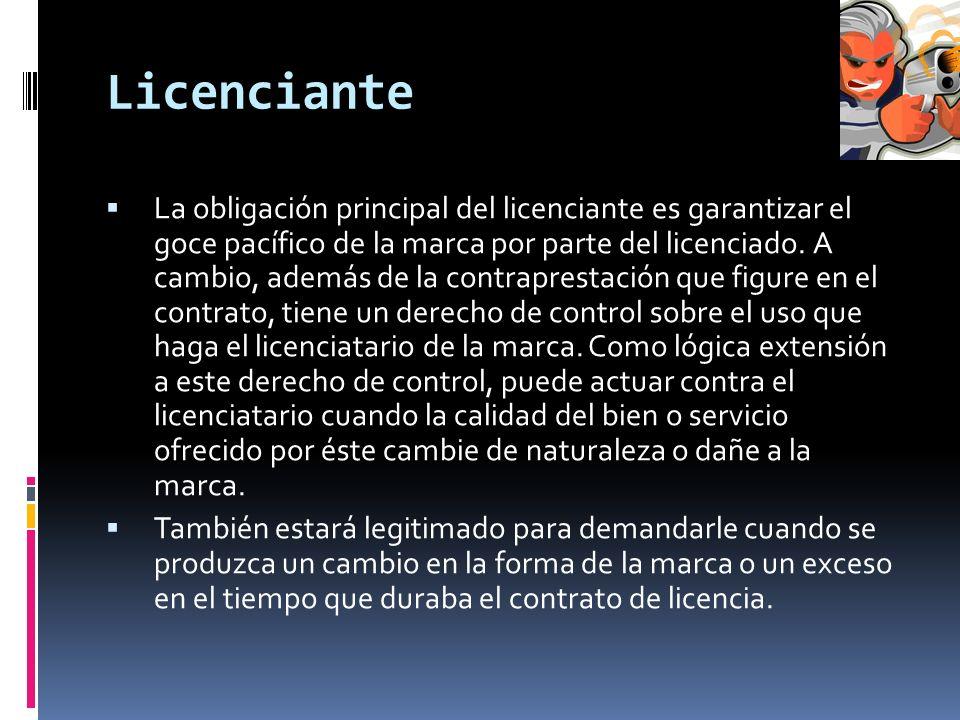 Licenciante