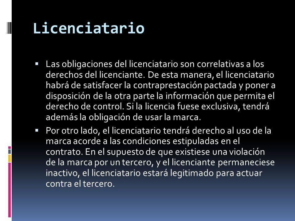 Licenciatario
