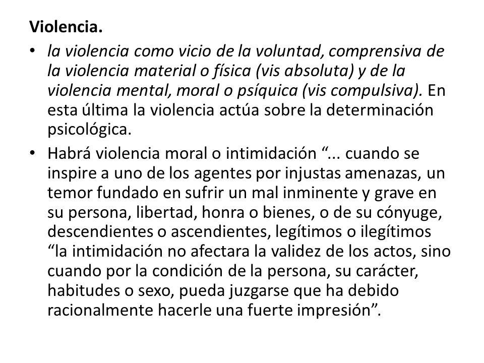 Violencia.