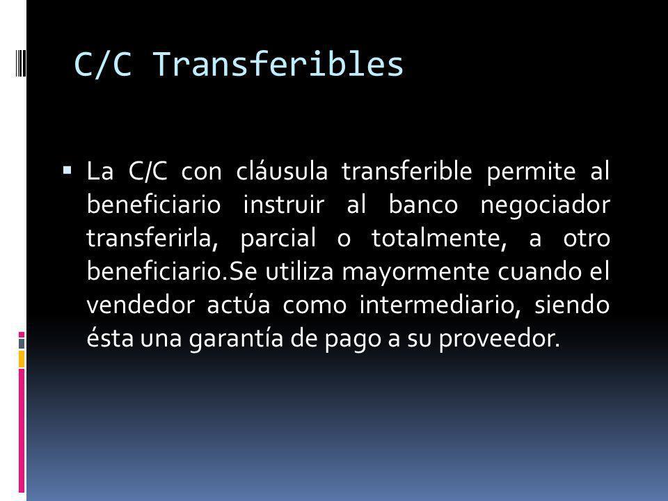 C/C Transferibles