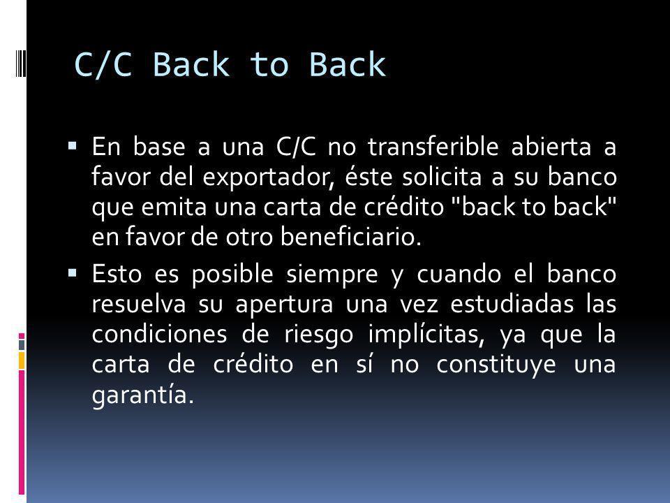 C/C Back to Back