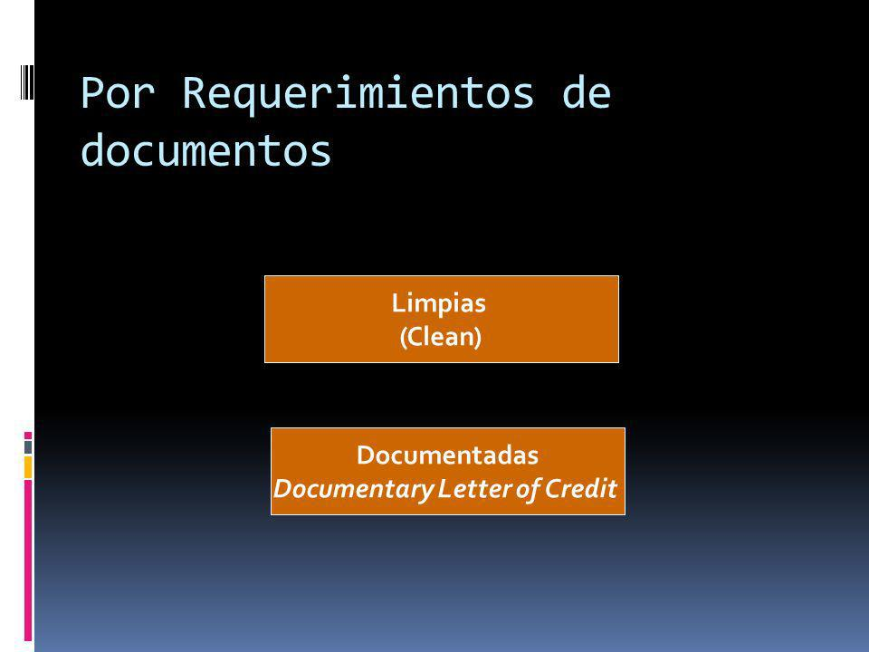Por Requerimientos de documentos