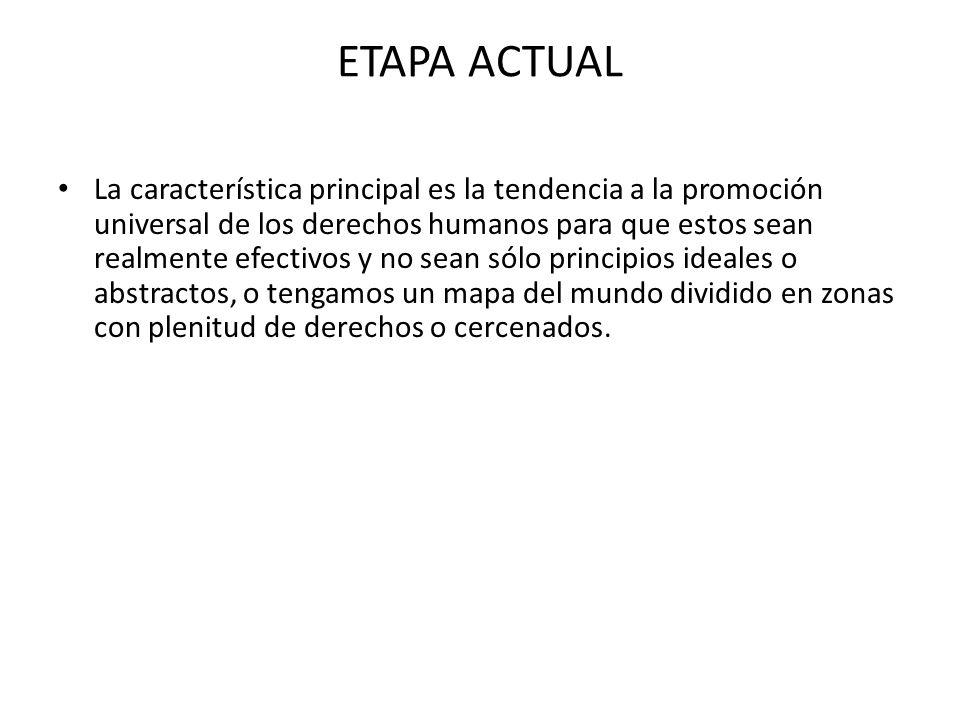 ETAPA ACTUAL