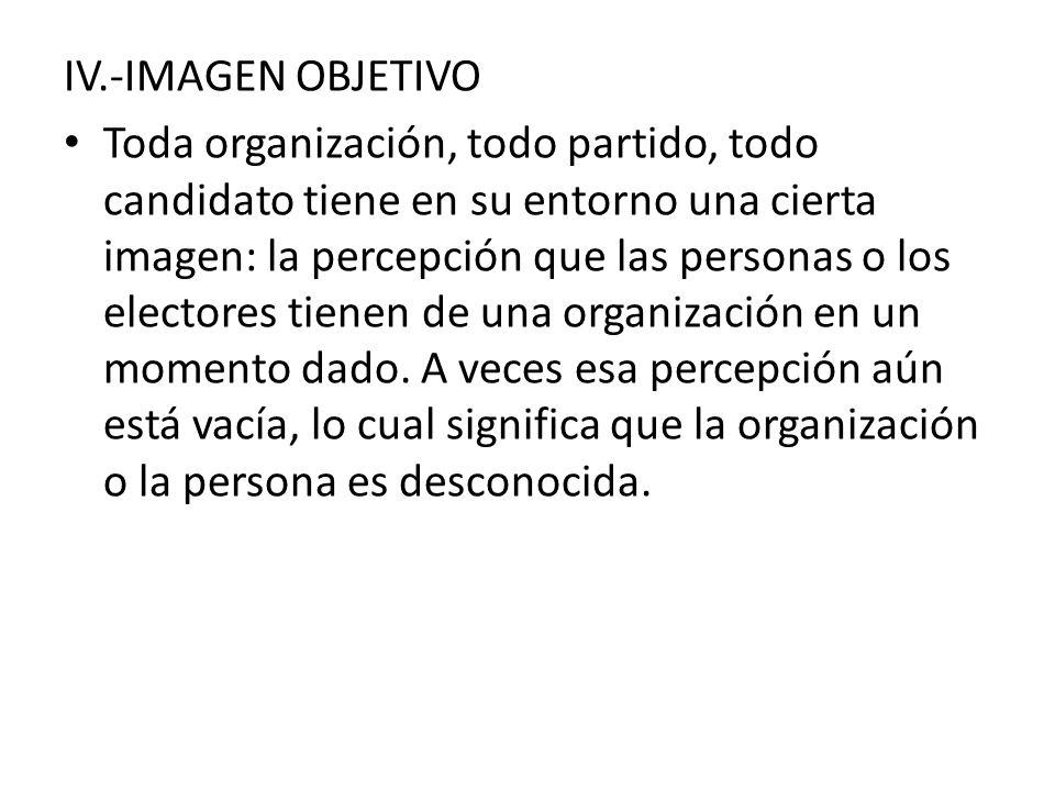 IV.-IMAGEN OBJETIVO
