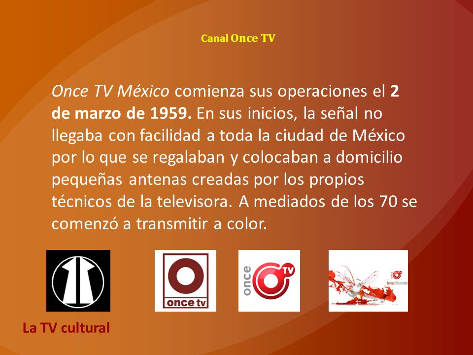 Canal Once TV