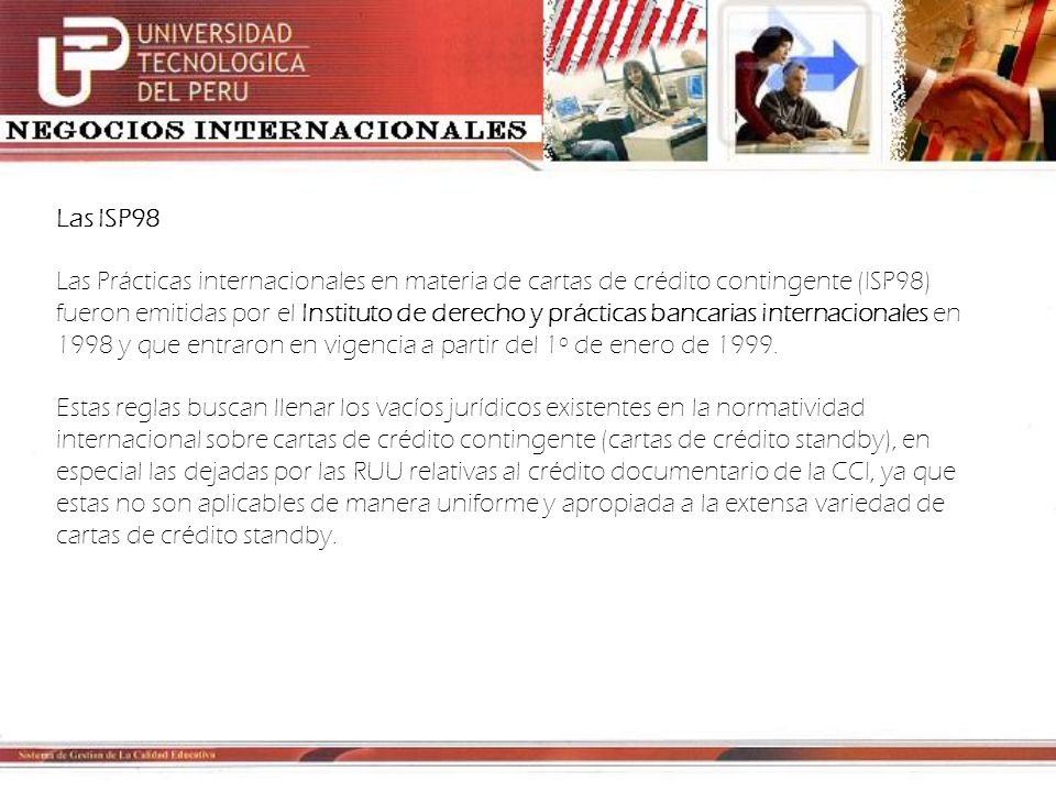 Las ISP98