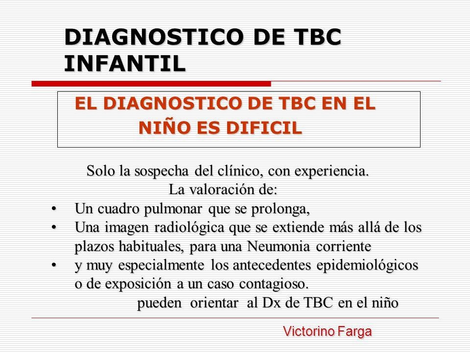 DIAGNOSTICO DE TBC INFANTIL