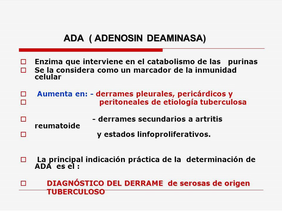 ADA ( ADENOSIN DEAMINASA)