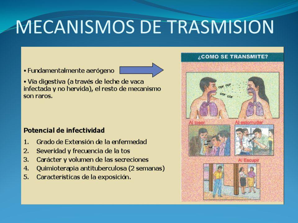 MECANISMOS DE TRASMISION