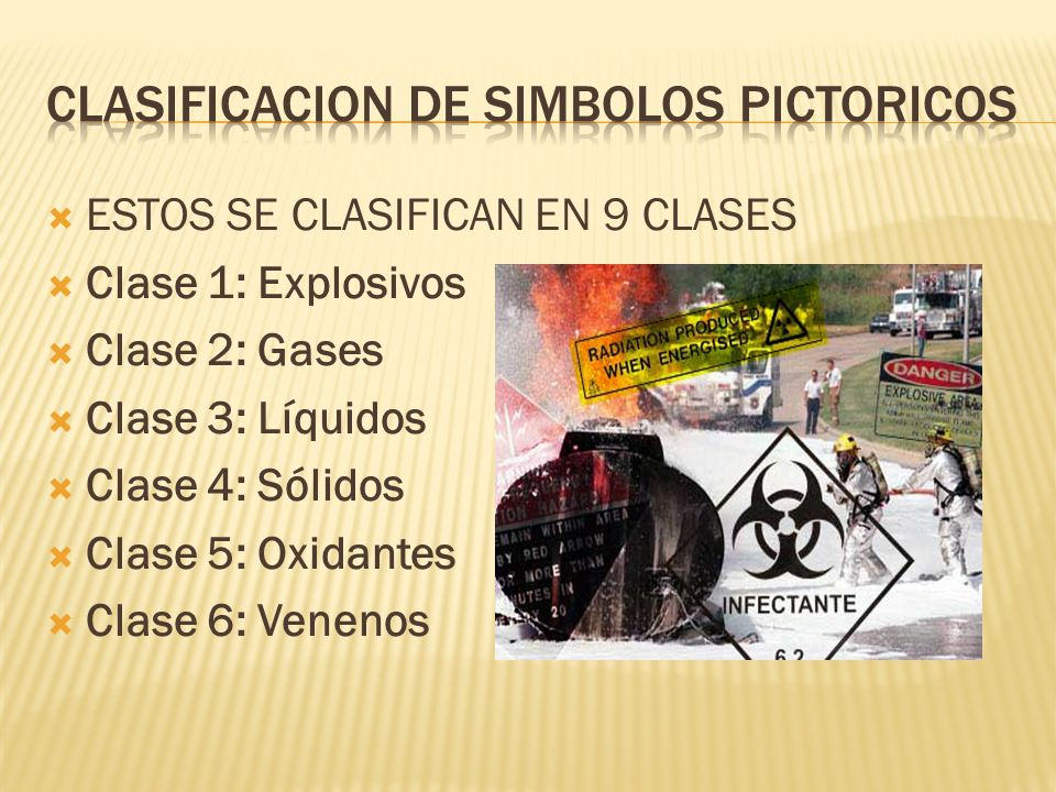 CLASIFICACION DE SIMBOLOS PICTORICOS