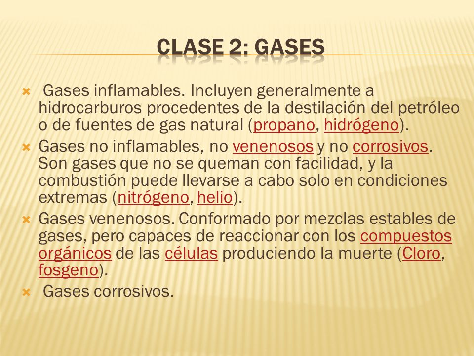 Clase 2: Gases