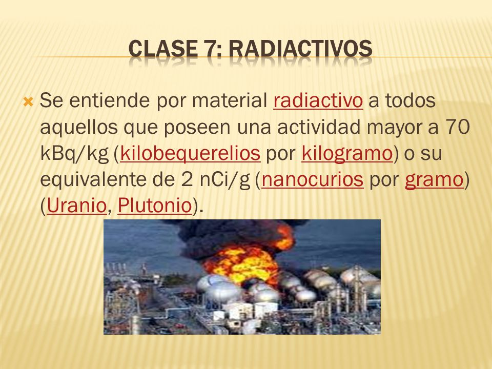 Clase 7: Radiactivos