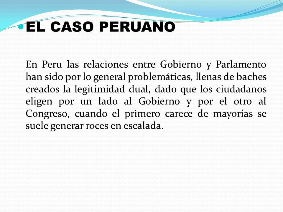 EL CASO PERUANO
