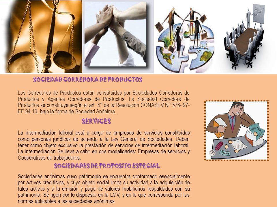 SOCIEDAD CORREDORA DE PRODUCTOS