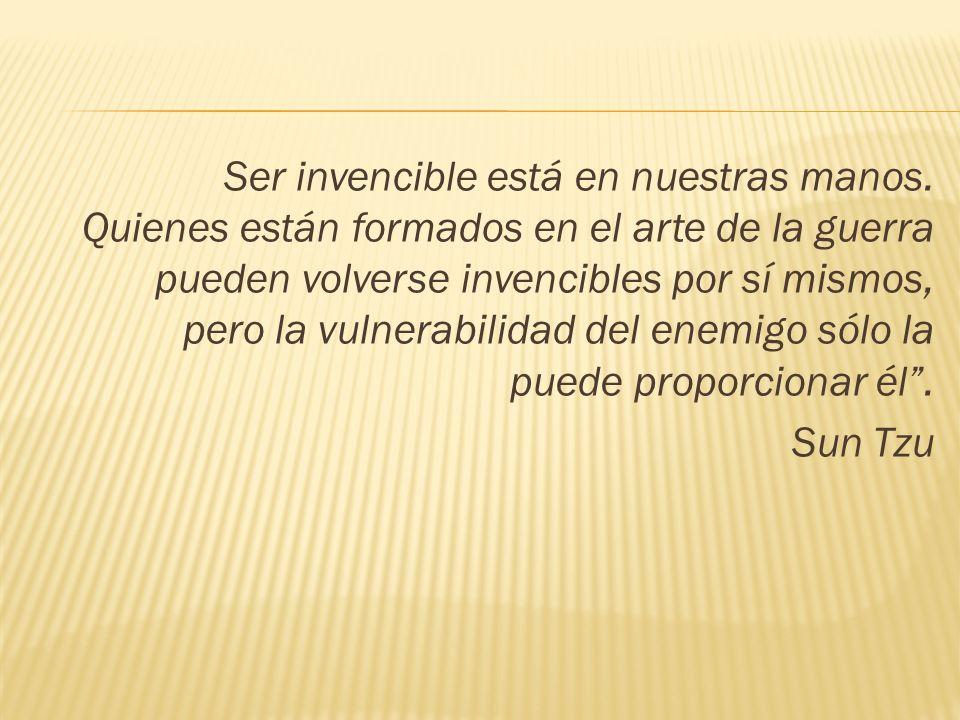 Ser invencible está en nuestras manos