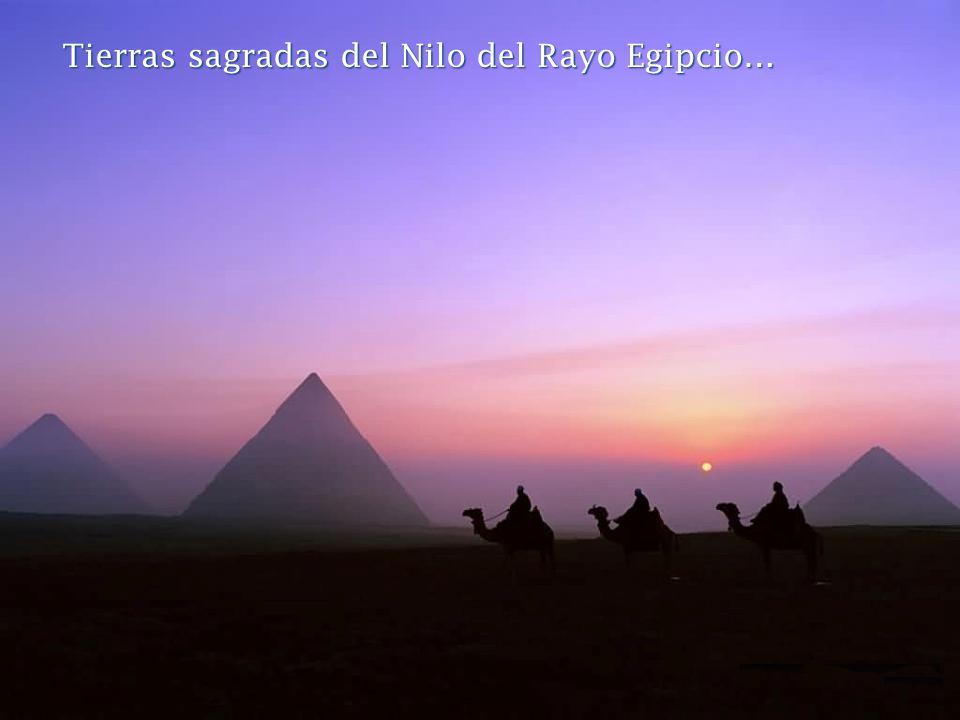 Tierras sagradas del Nilo del Rayo Egipcio…