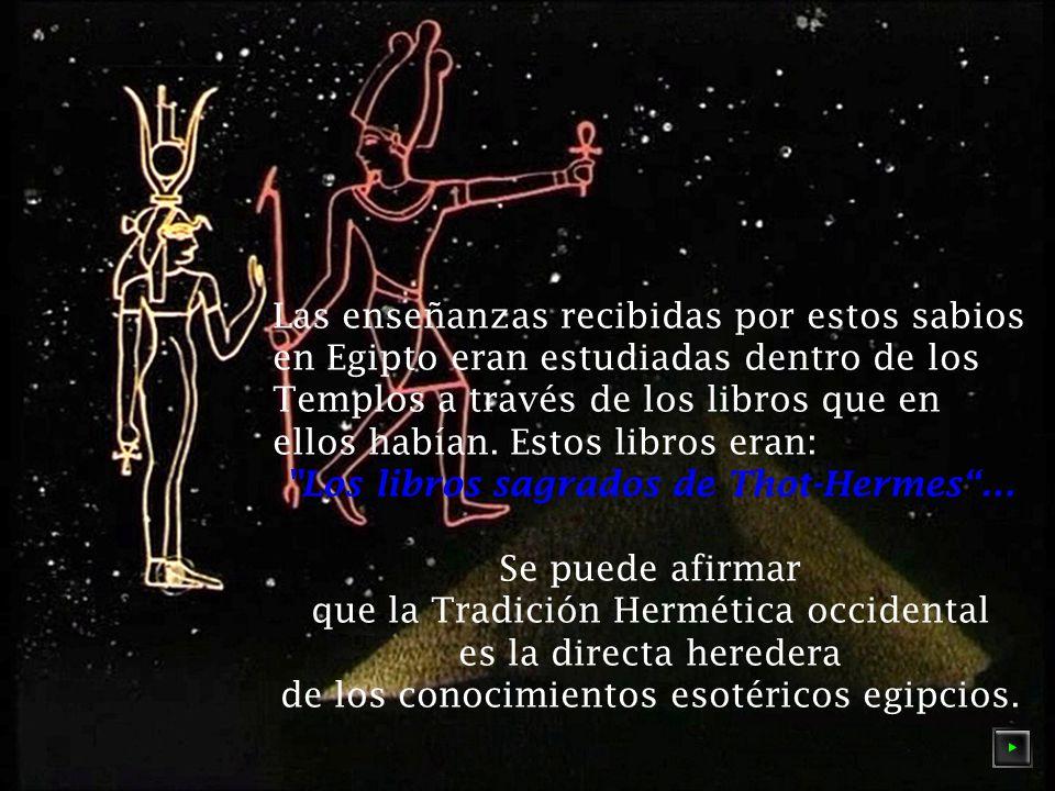 Los libros sagrados de Thot-Hermes …