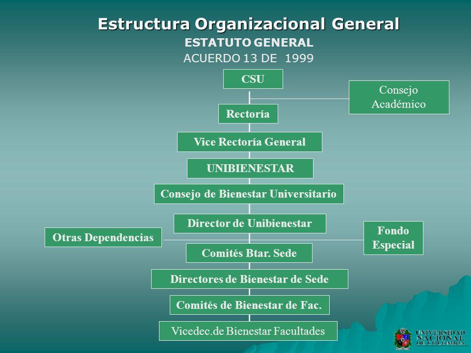 Estructura Organizacional General