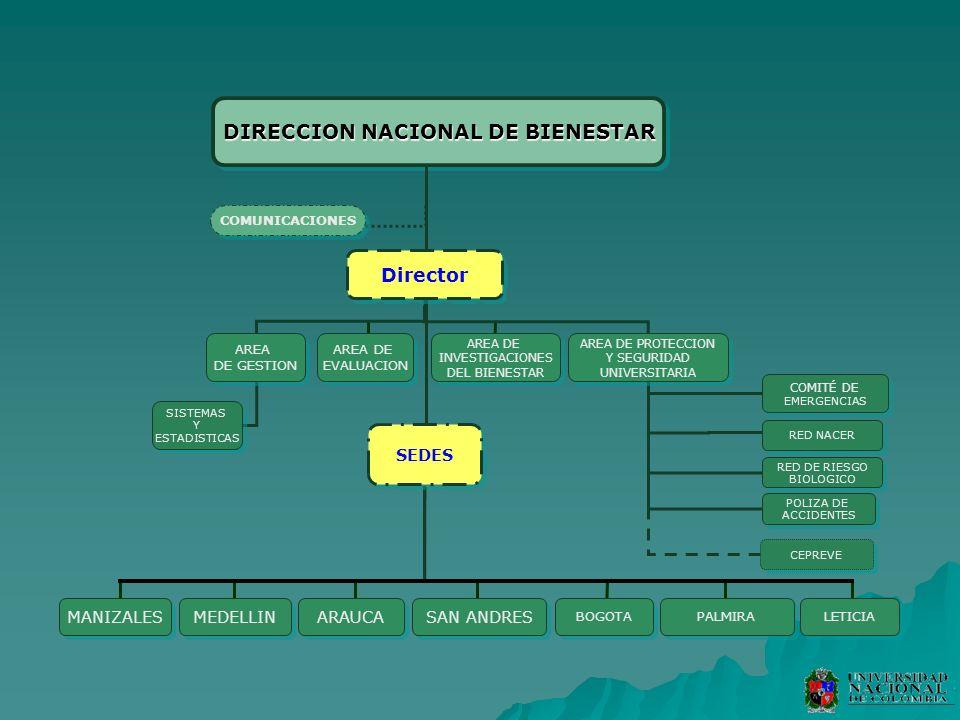 DIRECCION NACIONAL DE BIENESTAR