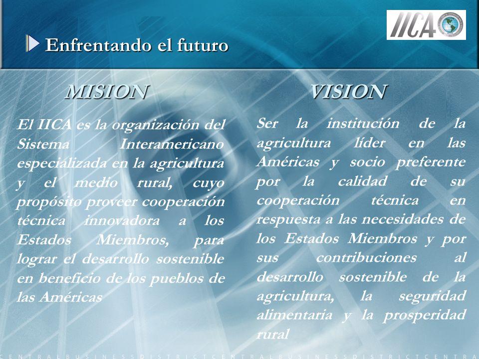 MISION VISION Enfrentando el futuro