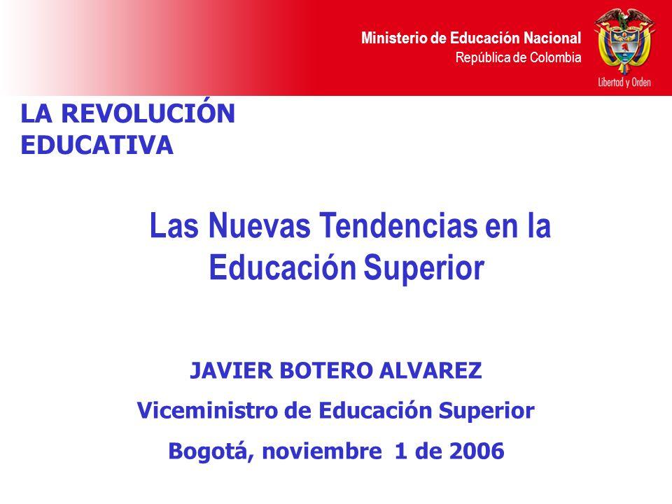 Las Nuevas Tendencias en la Educación Superior