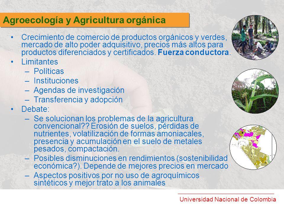 Agroecología y Agricultura orgánica