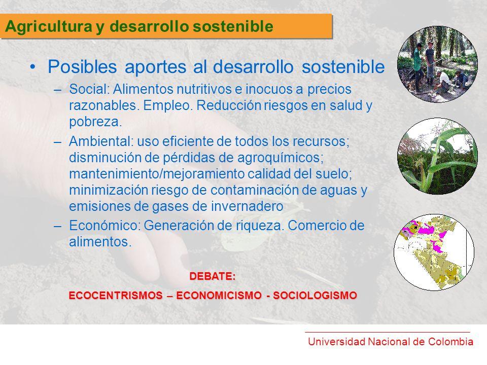ECOCENTRISMOS – ECONOMICISMO - SOCIOLOGISMO