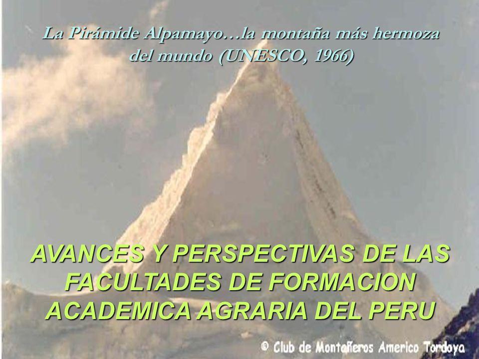 La Pirámide Alpamayo…la montaña más hermoza del mundo (UNESCO, 1966)