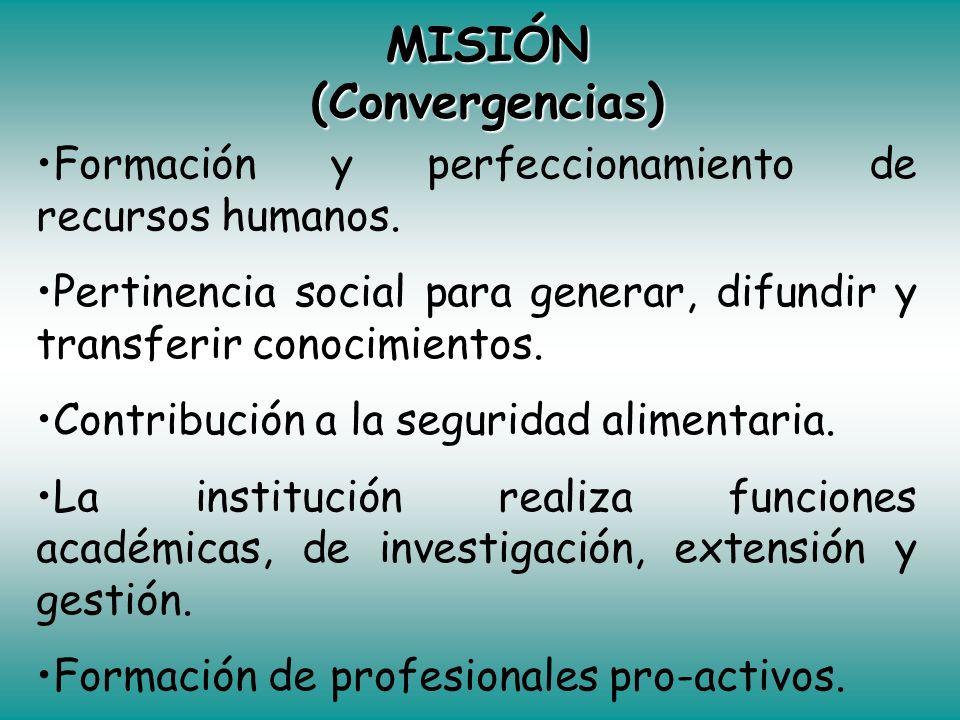 MISIÓN (Convergencias)