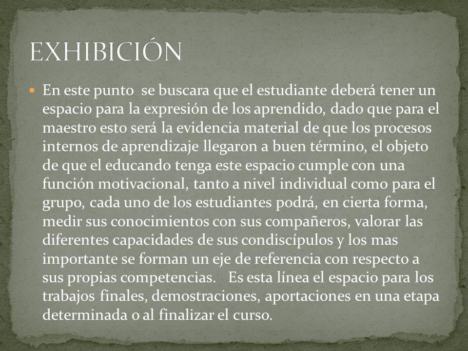 EXHIBICIÓN