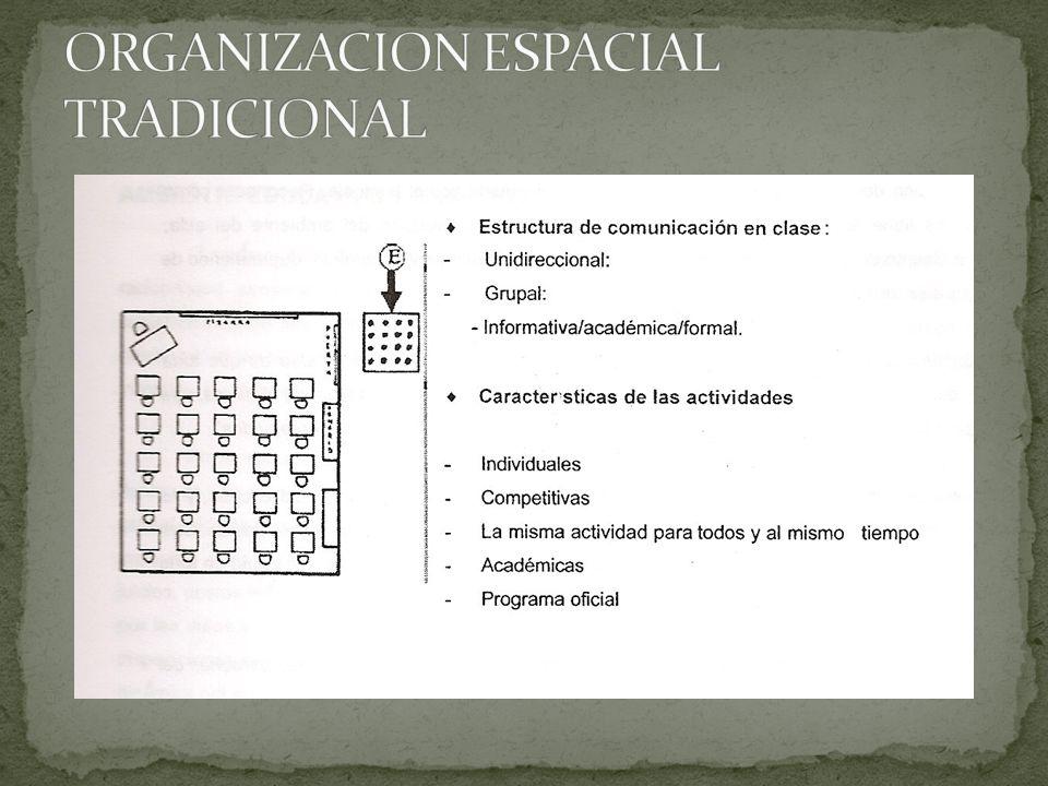 ORGANIZACION ESPACIAL TRADICIONAL